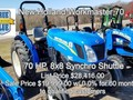 2018 New Holland Workmaster 70 40-99 HP