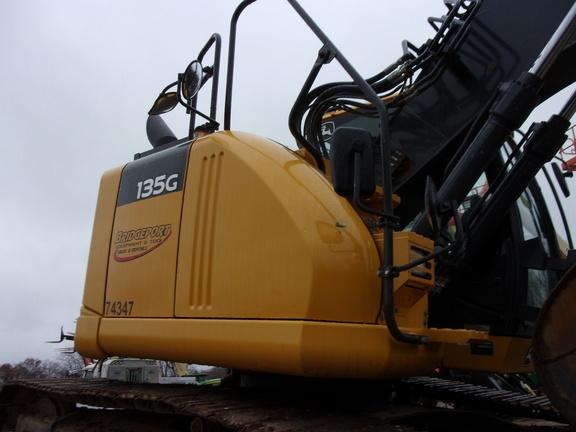 2017 Deere 135G Excavators and Mini Excavator
