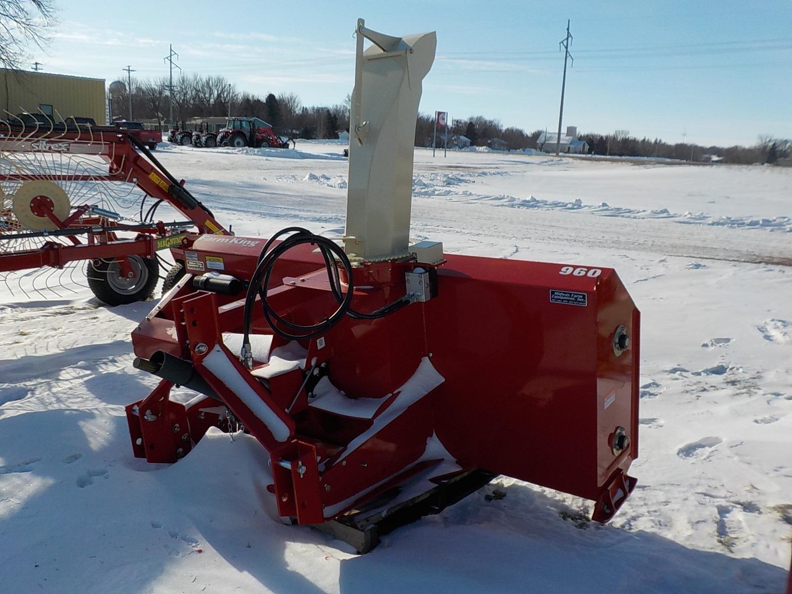 2019 Farm King Y960Q Snow Blower