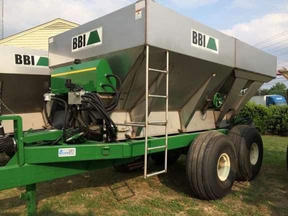 2014 BBI Magna2 Pull Type, Two Bin Pull-Type Fertilizer Spreader