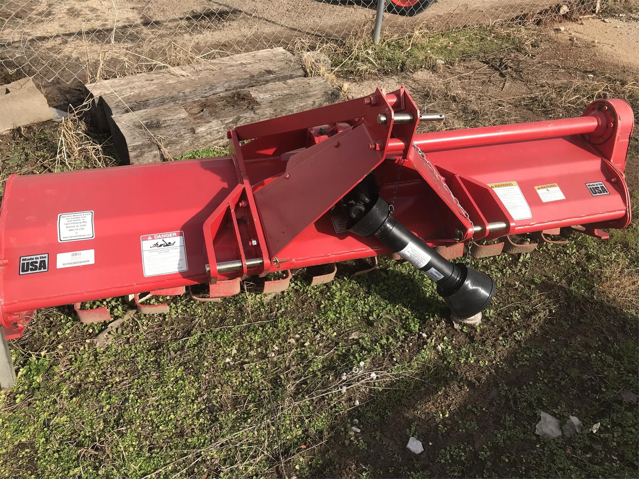 2017 Taylor Way 962GDT84 Mulchers / Cultipacker