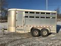 2006 Kiefer 7x16 Livestock Trailer