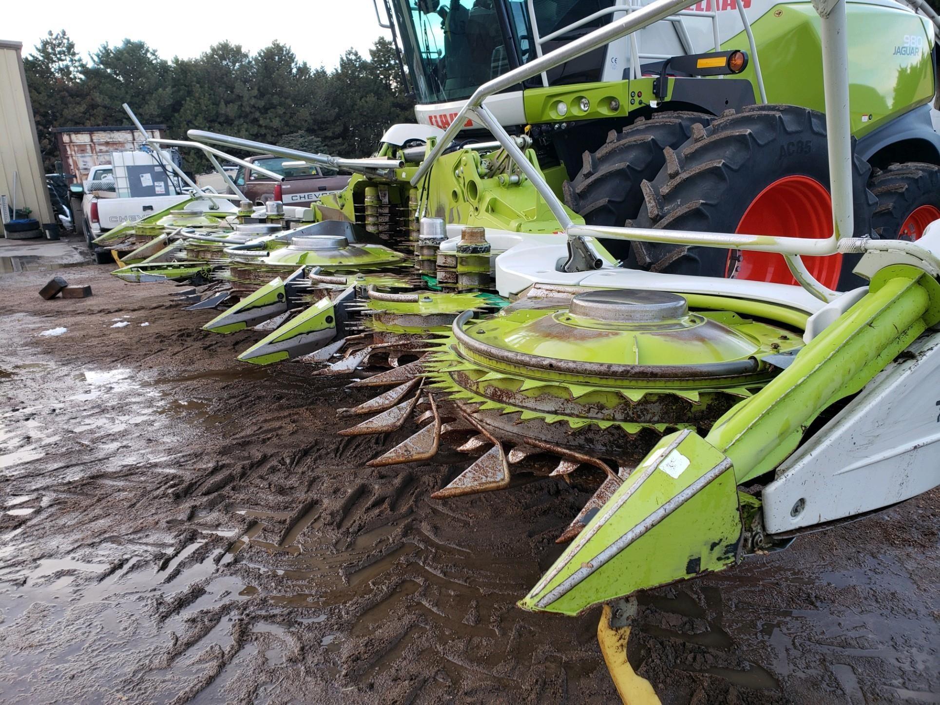 2014 Claas ORBIS 900 Forage Harvester Head