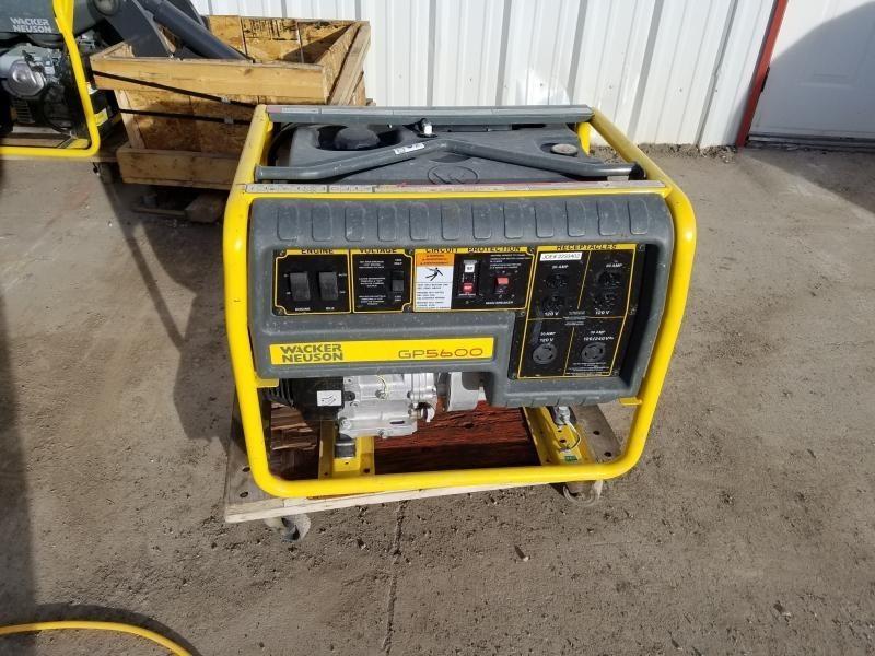 2016 Wacker Neuson G5600 Generator