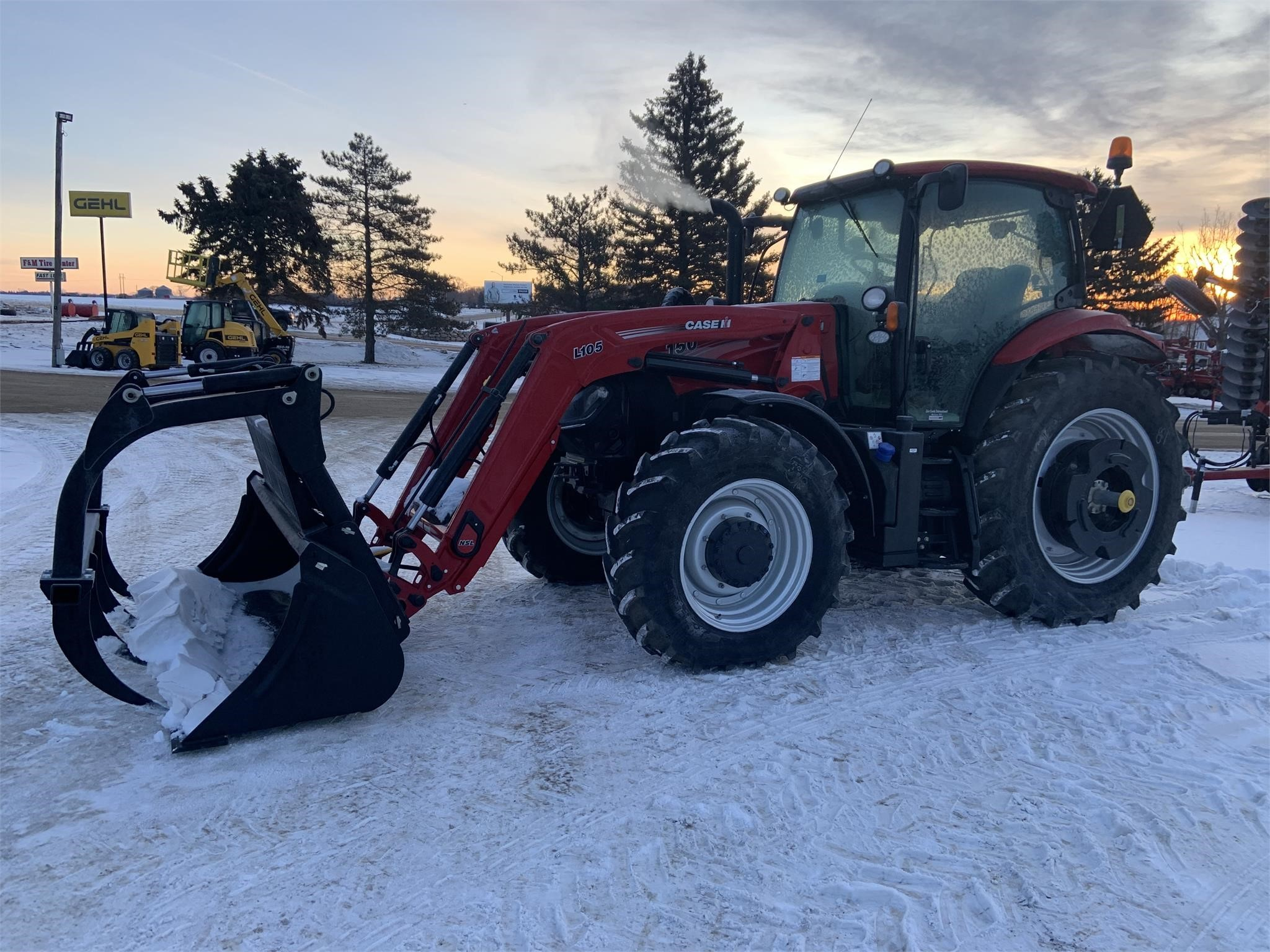 2019 Case IH Maxxum 150 Tractor