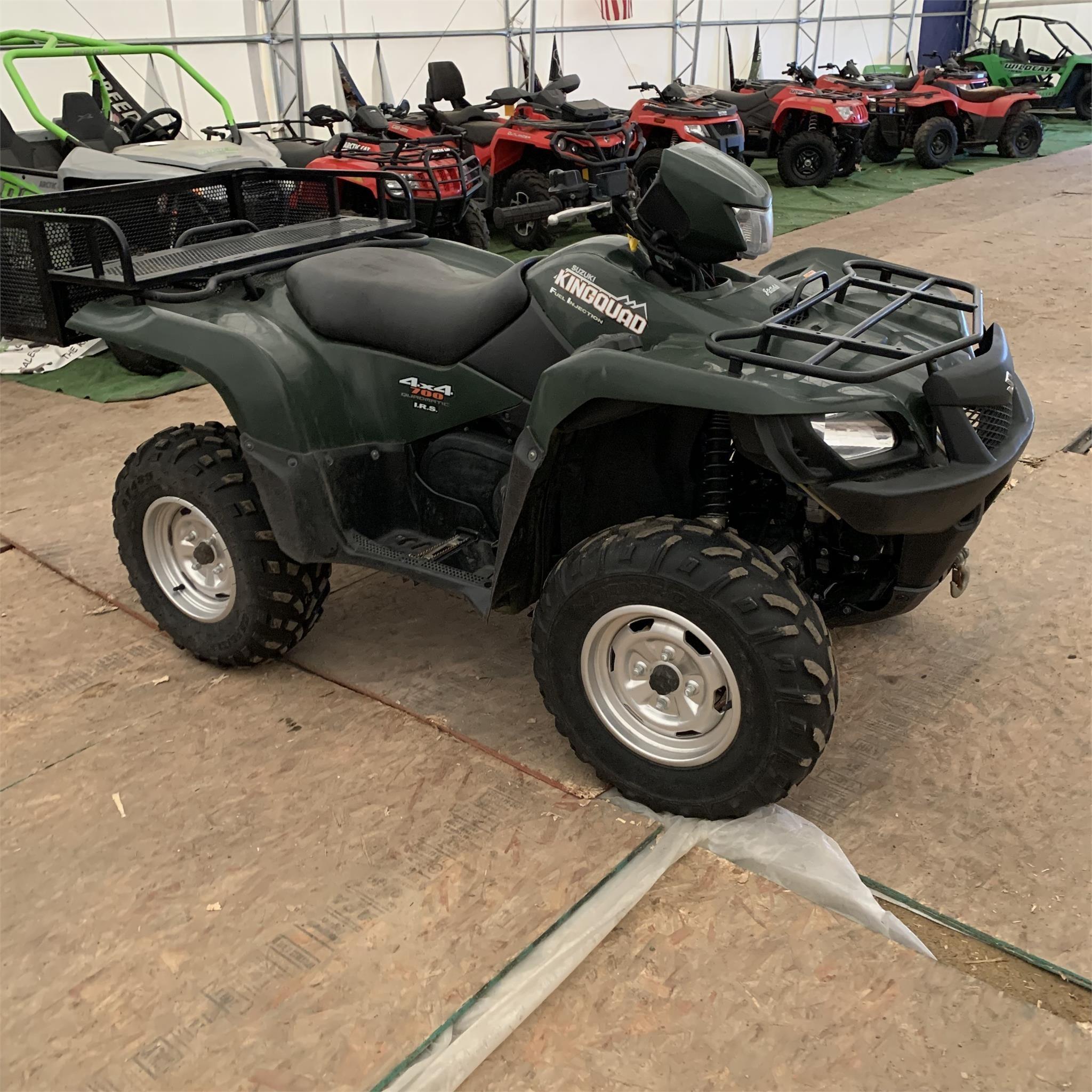 2005 Suzuki KingQuad 700 ATVs and Utility Vehicle