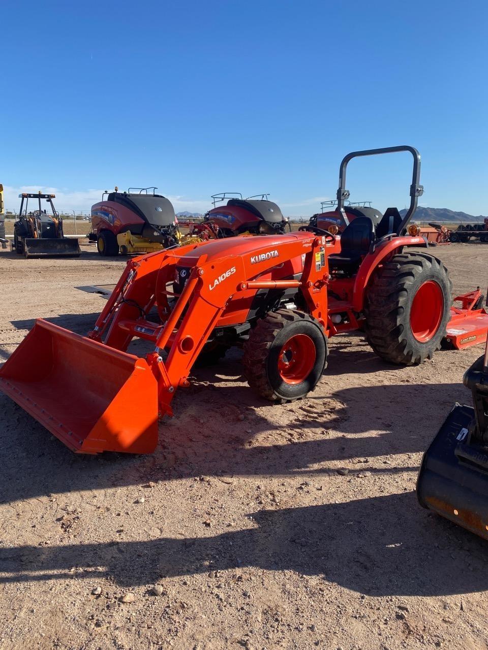 2018 Kubota MX5800HST Tractor