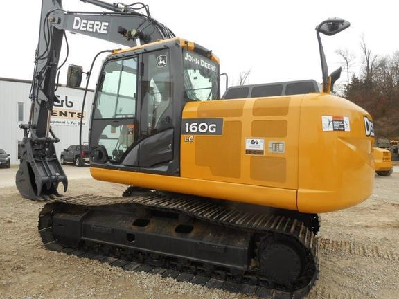 2014 Deere 160G LC Excavators and Mini Excavator