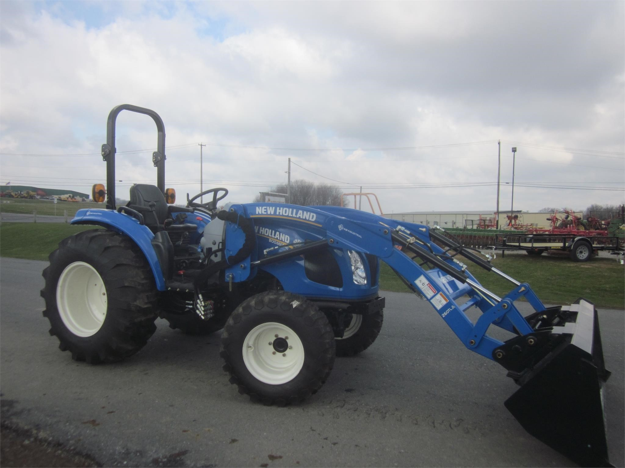 2018 New Holland Boomer 41 Tractor