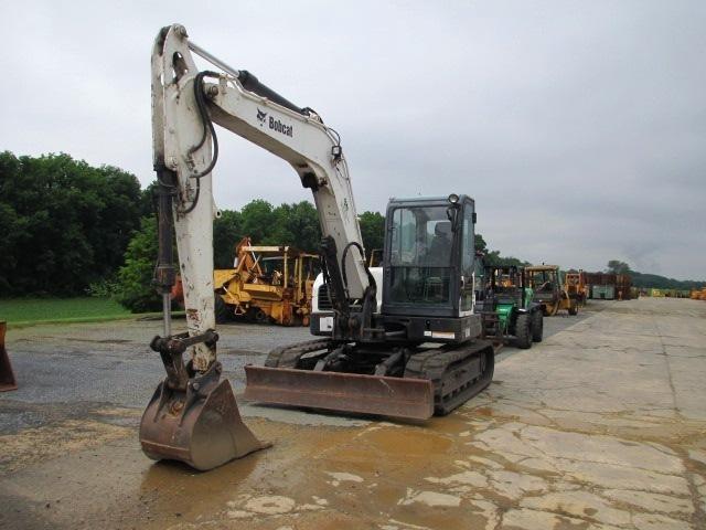 2009 Bobcat E80 Excavators and Mini Excavator