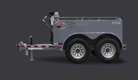 2021 Thunder Creek EV750 Fuel Trailer