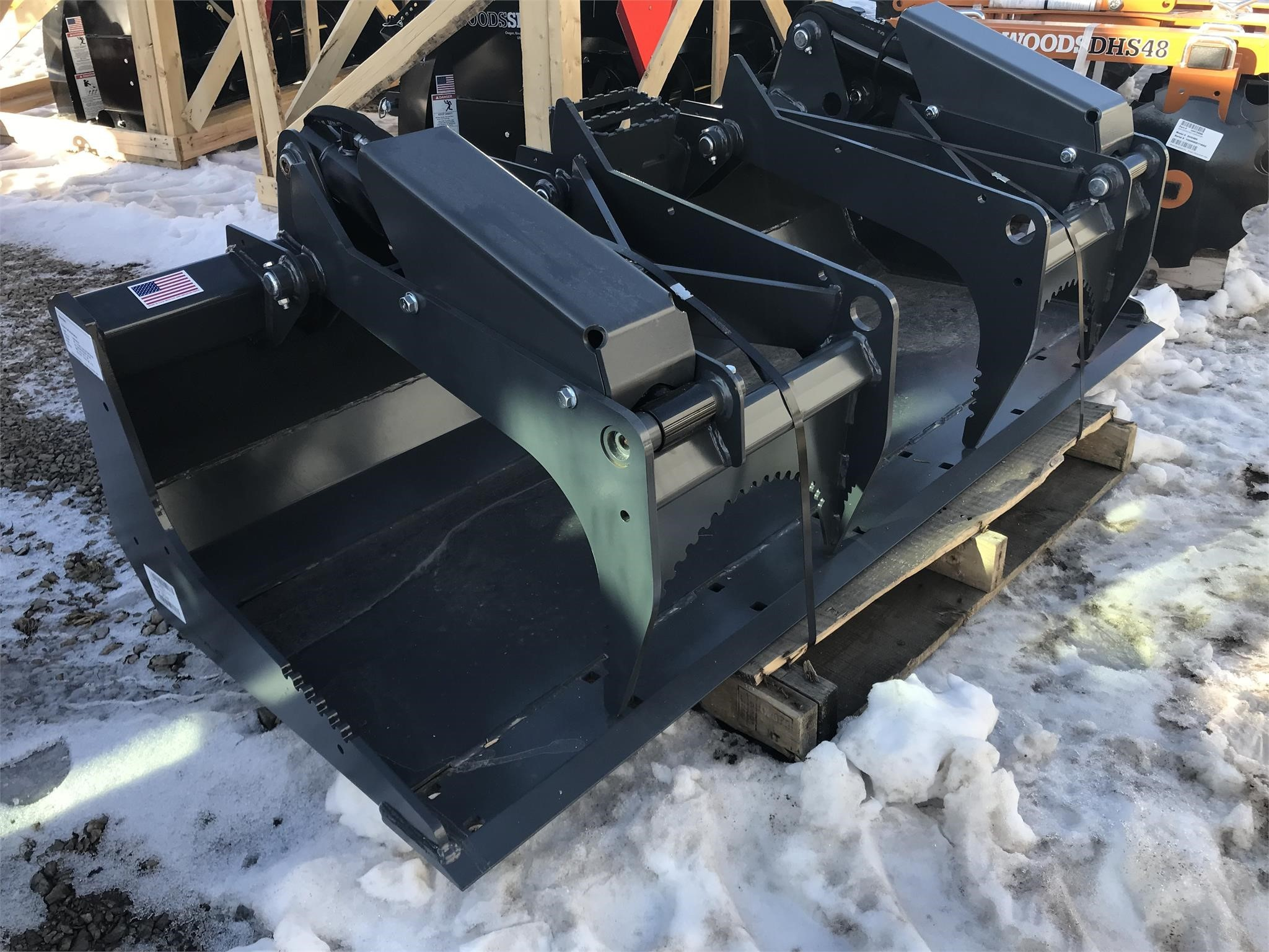2019 Alitec HLSG73 Loader and Skid Steer Attachment