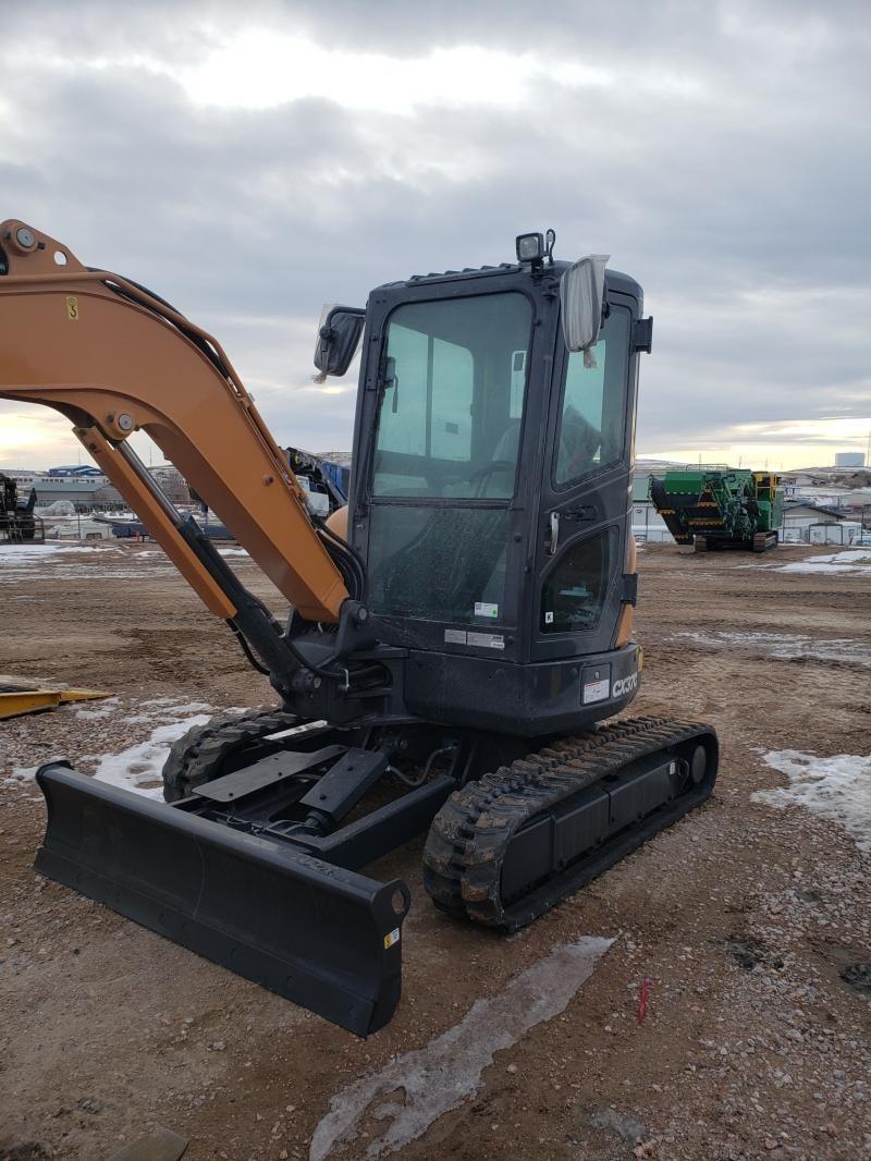 2020 Case CX37C Excavators and Mini Excavator