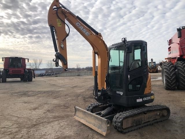 2018 Case CX37C Excavators and Mini Excavator