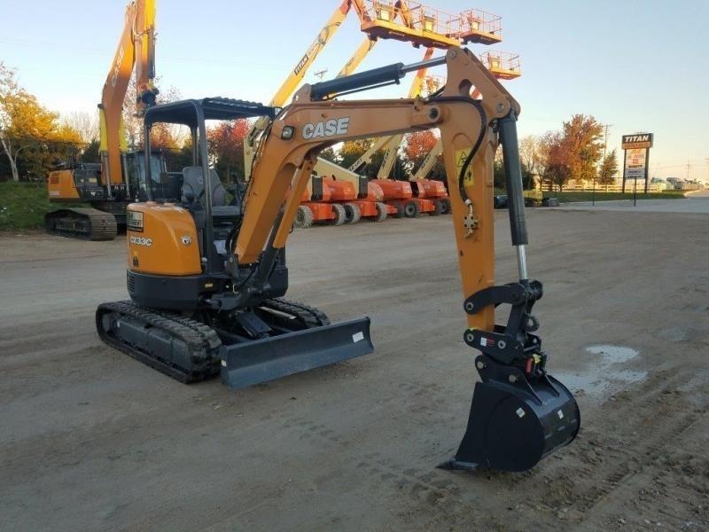 2018 Case CX33C Excavators and Mini Excavator