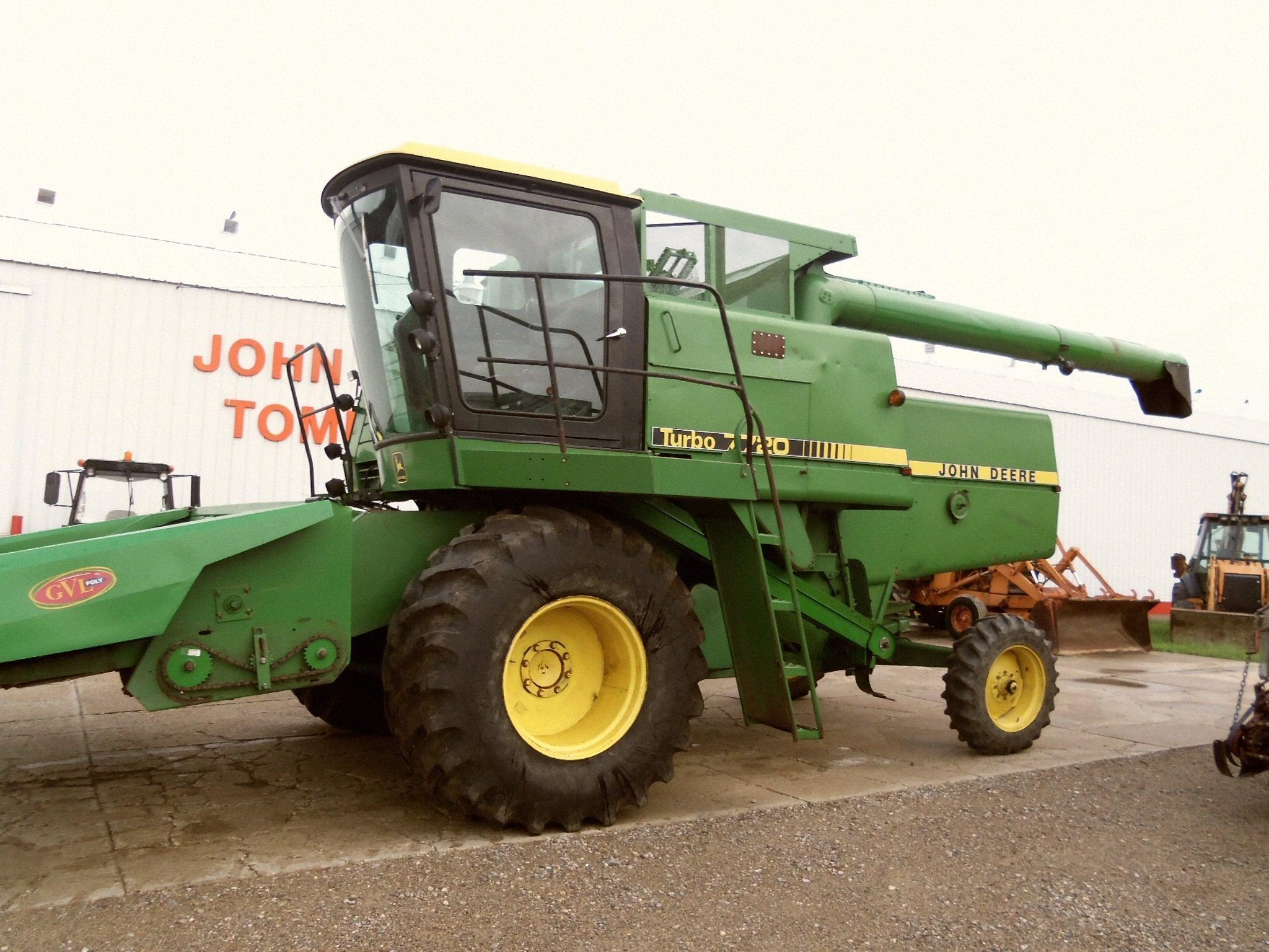 John Deere 7720 Tractor
