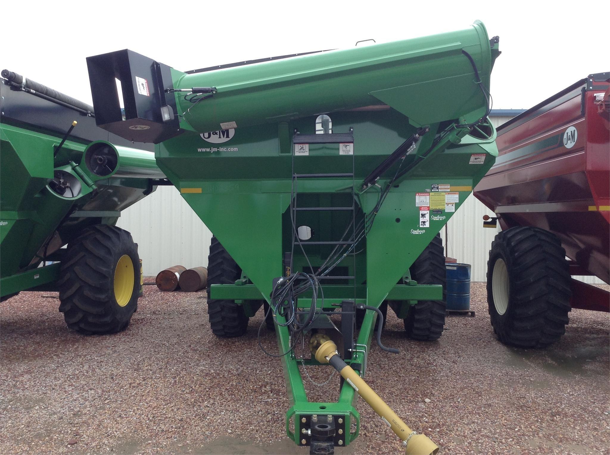 2014 J&M 1051-22D Grain Cart
