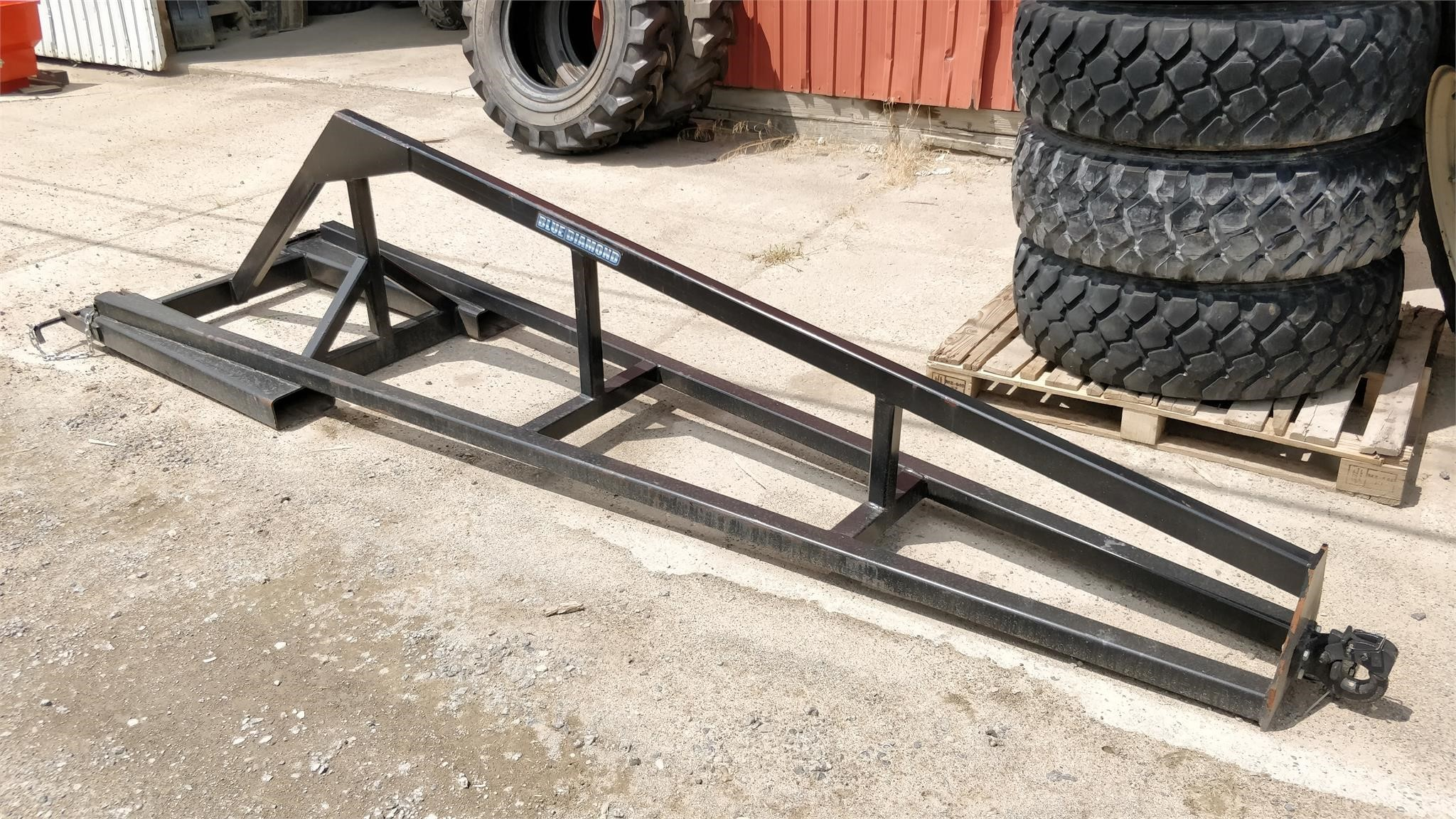 Blue Diamond 118005 Loader and Skid Steer Attachment