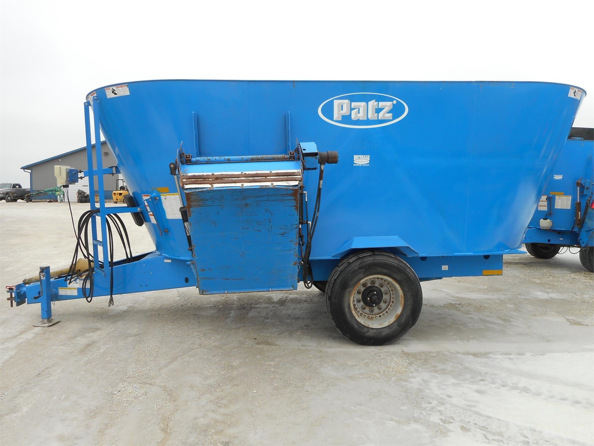 2008 Patz 620 Grinders and Mixer