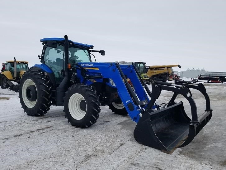 2015 New Holland T6.180 Tractor