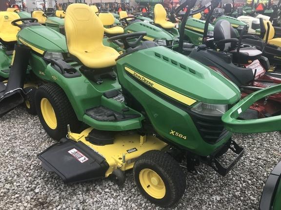 2017 John Deere X584 Lawn and Garden
