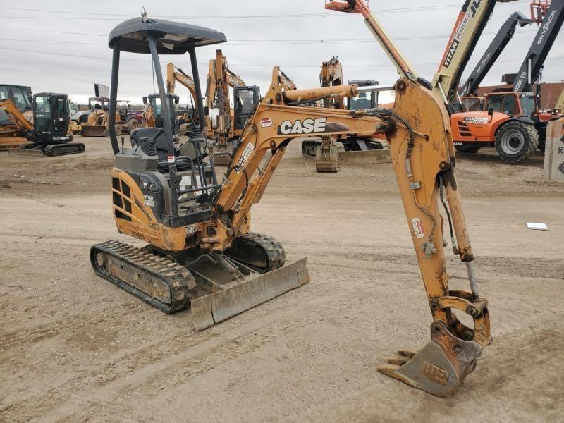 2011 Case CX17B Excavators and Mini Excavator