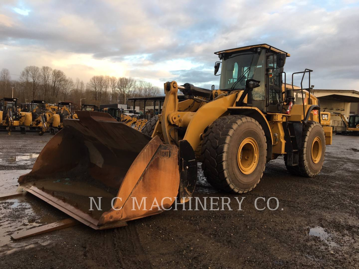 2018 Caterpillar 966M Wheel Loader