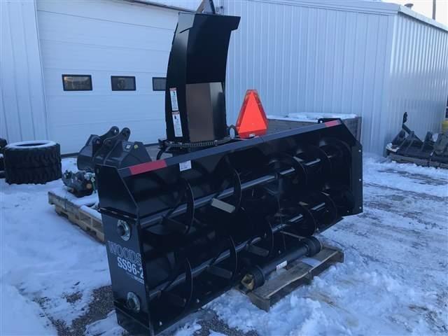 2019 Woods SS96-2 Snow Blower