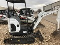 2017 Bobcat E20 Excavators and Mini Excavator