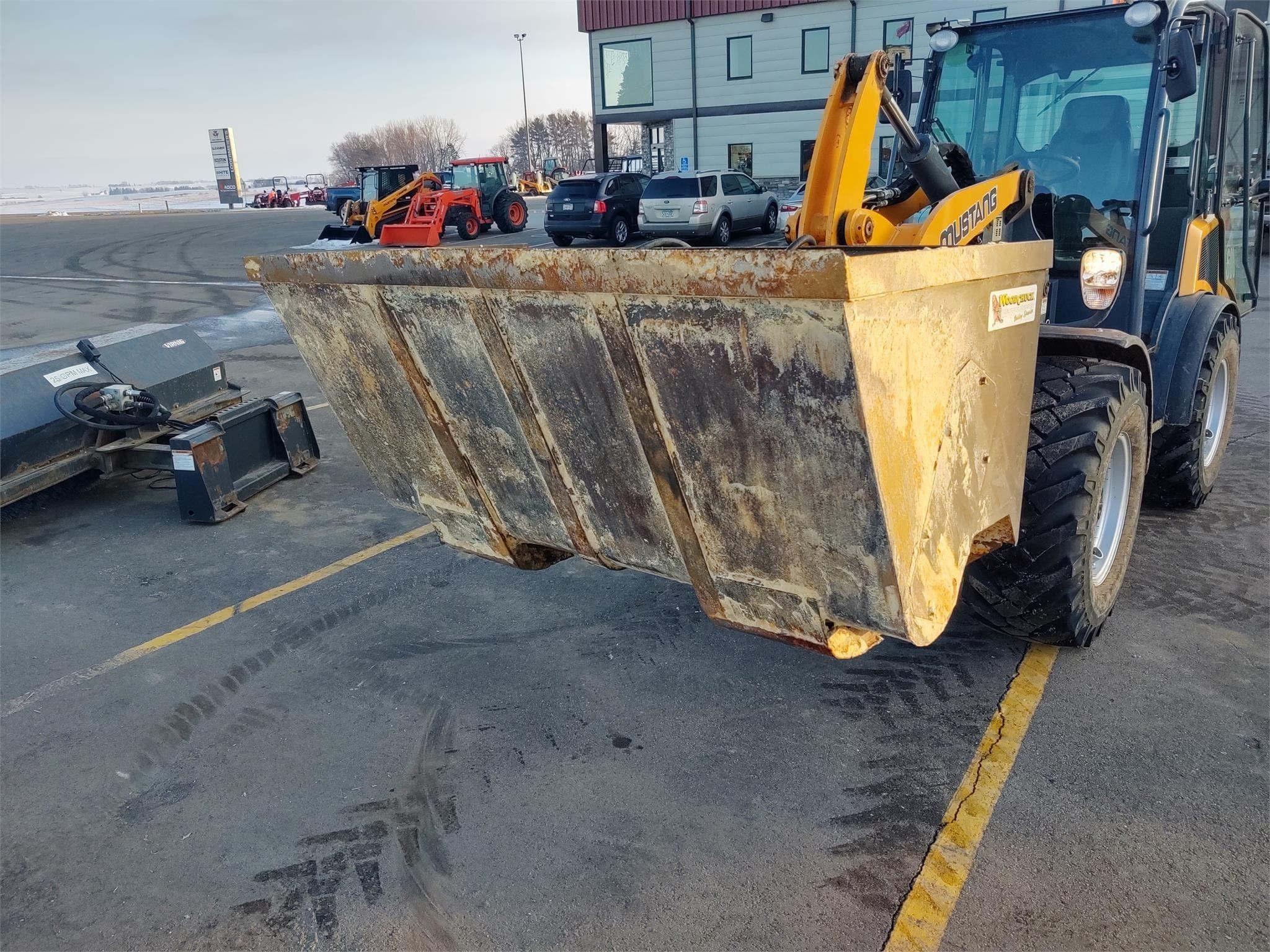 Woodchuck 68ST1 Loader and Skid Steer Attachment